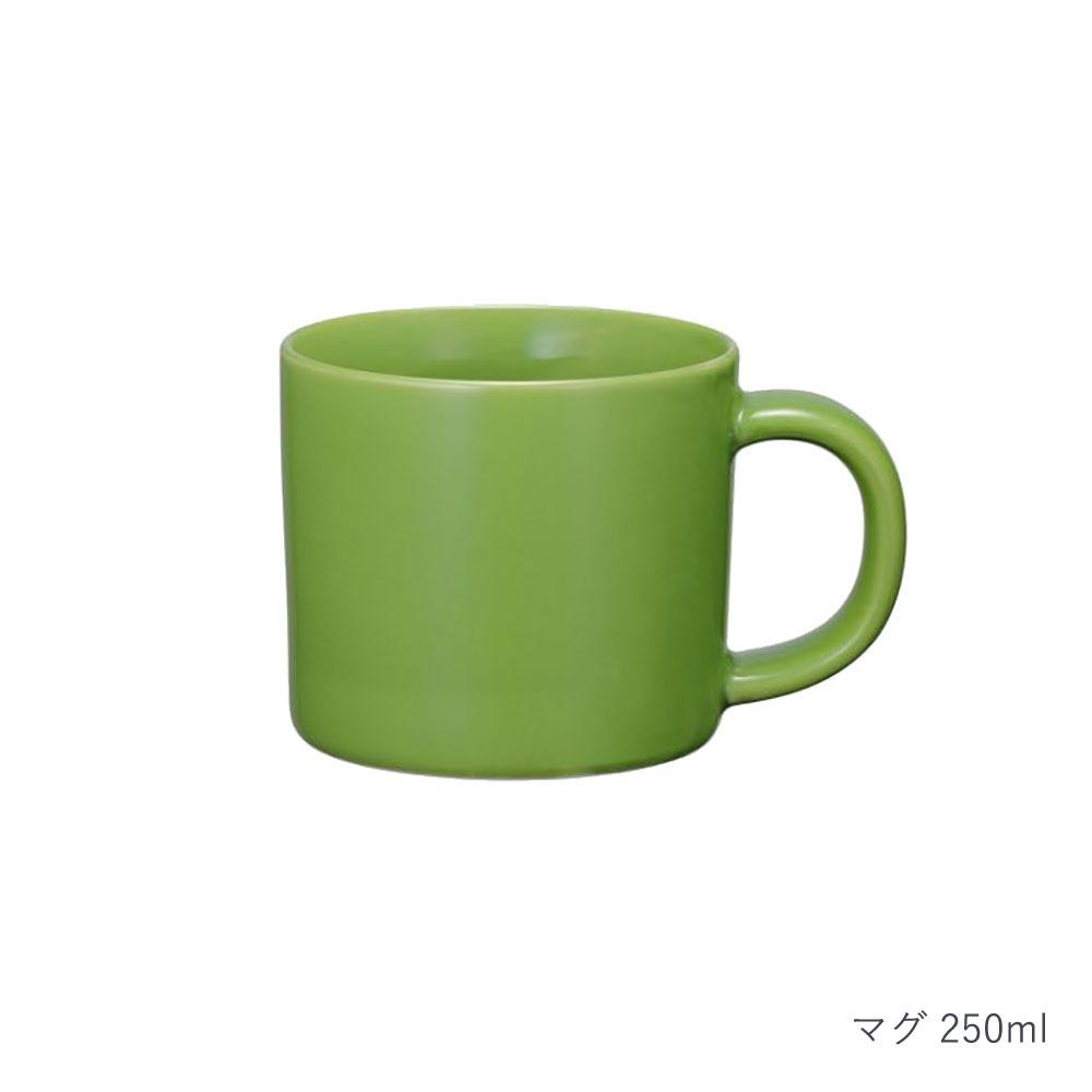 西海陶器 波佐見焼 「コモン」 マグ 250ml グリーン 13881