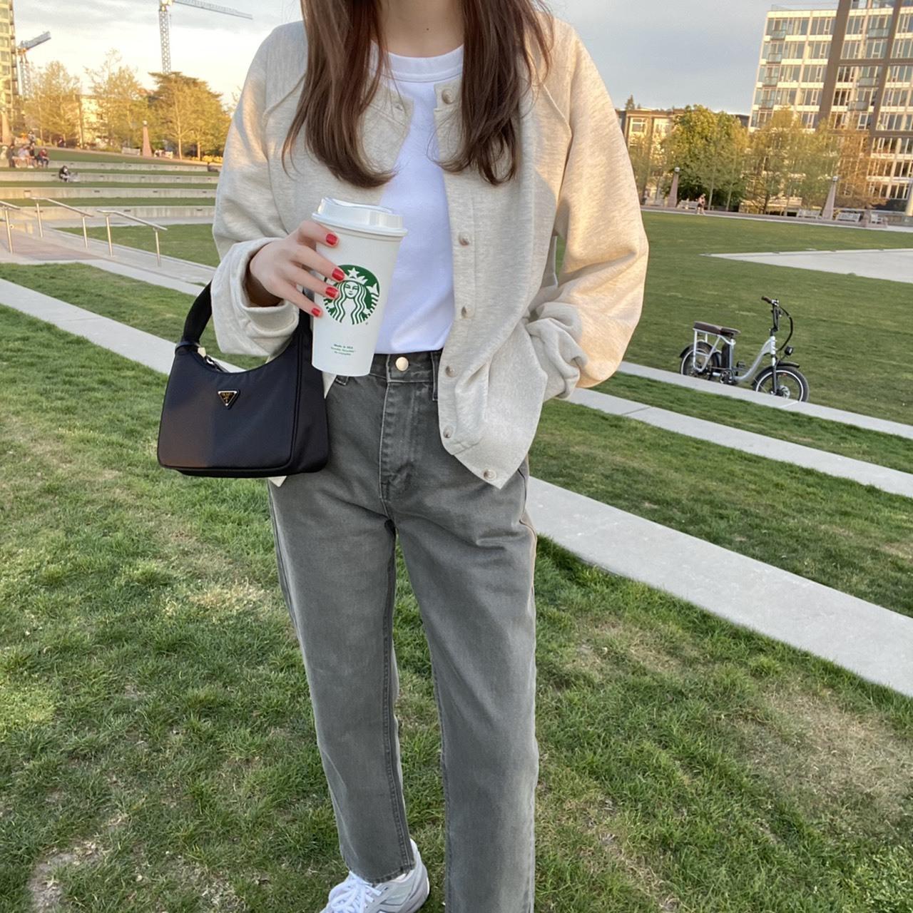 【RE】DAYNYC dying denim pants(gray)