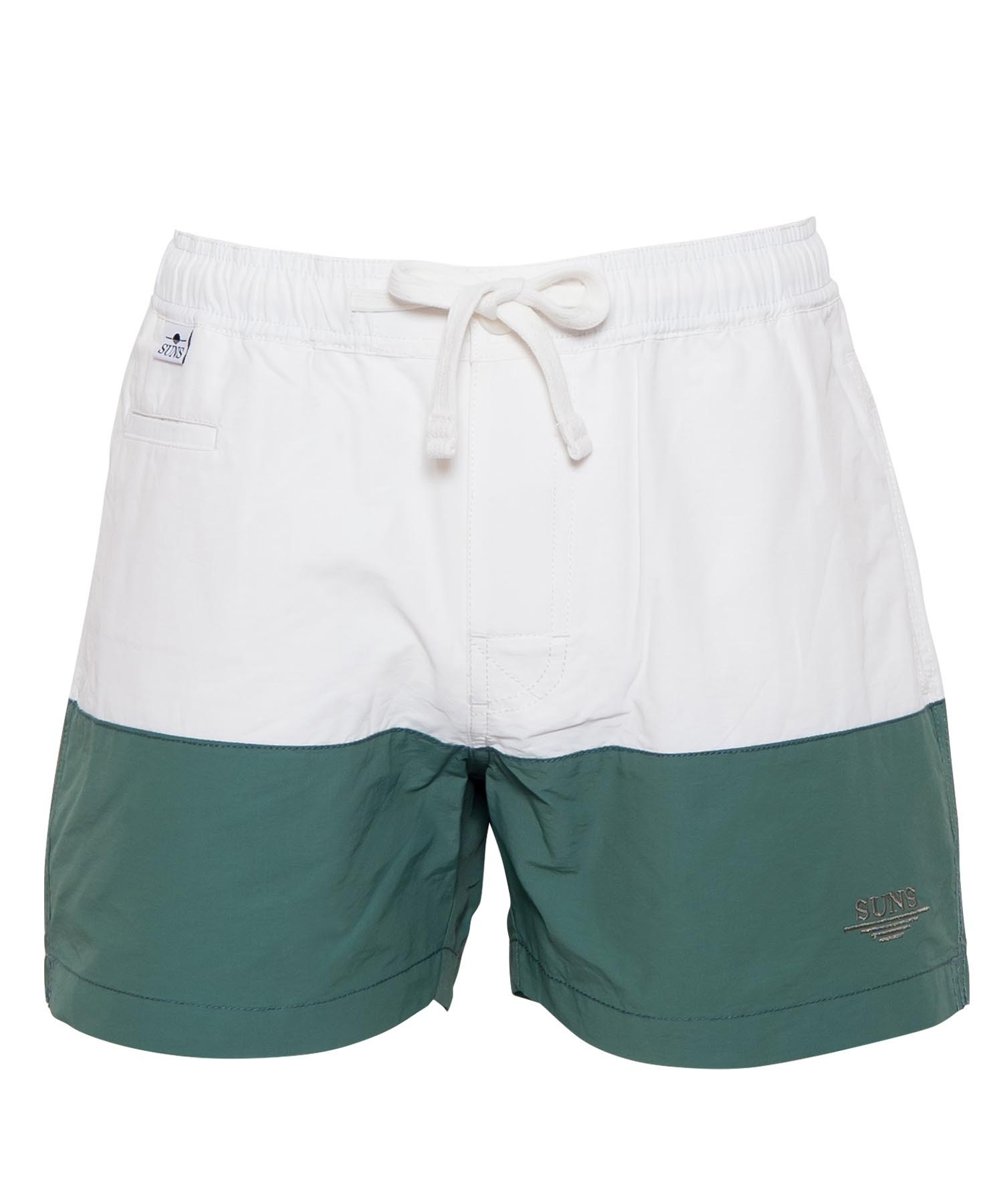 SUNS TWO-TONE COLOR SWIM SHORTS[RSW035]