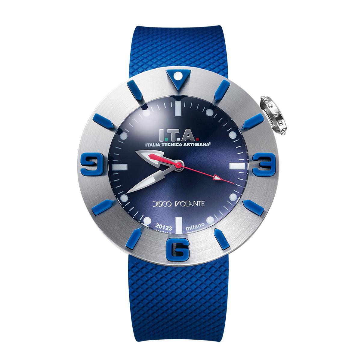 【I.T.A. アイティエー】DISCO VOLANTE ディスコ・ボランテ(ブルーシルバー)/国内正規品 腕時計