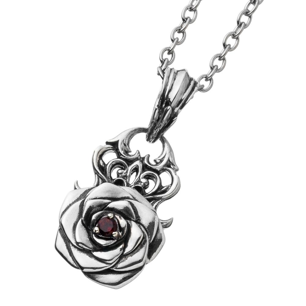 薔薇ペンダント AKP0128 Rose pendant