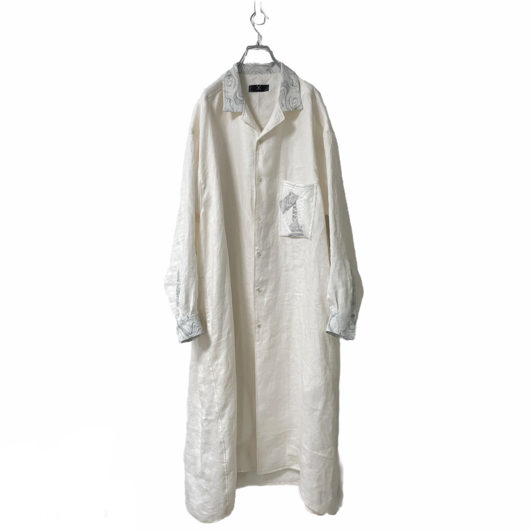 Shirts-Coat (ivory/marble grey)