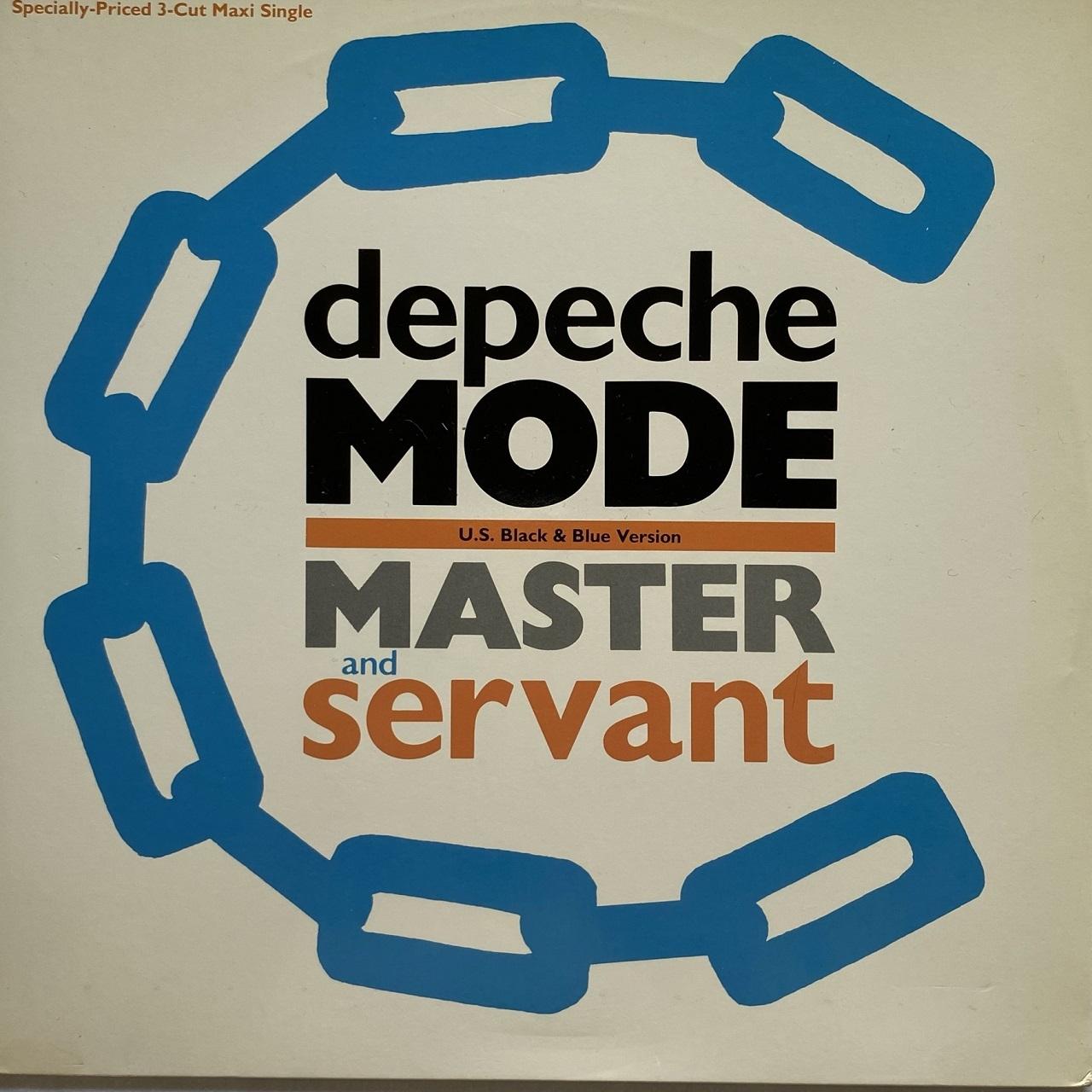 【12inch・米盤】Depeche Mode / Master And Servant (U.S. Black & Blue Version)