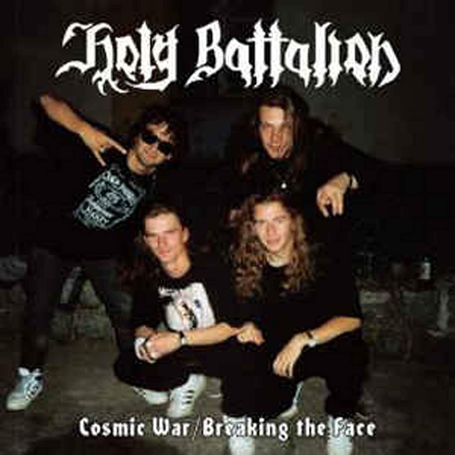 """HOLY BATTALION """"Cosmic War / Breaking the Face""""  (輸入盤)"""