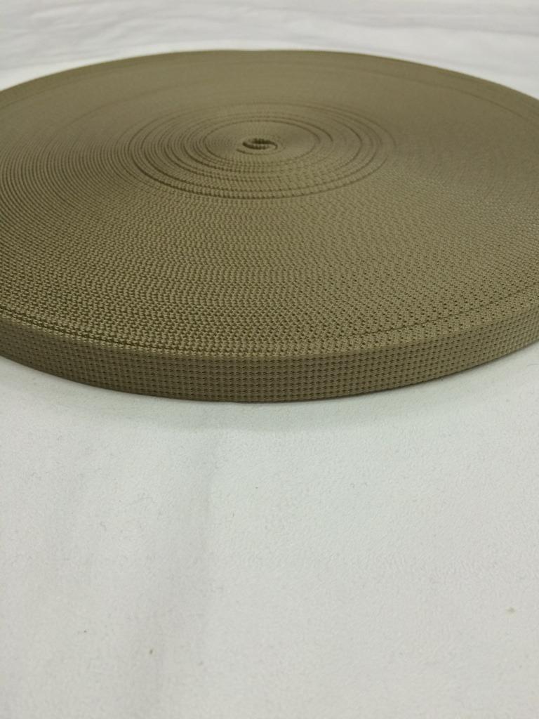 ナイロンテープ  12本トジ織  15mm幅  1.5mm厚  カラー(黒以外)  1反(50m)