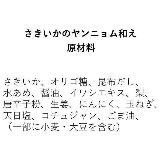 さきいかのヤンニョム和え(350g)