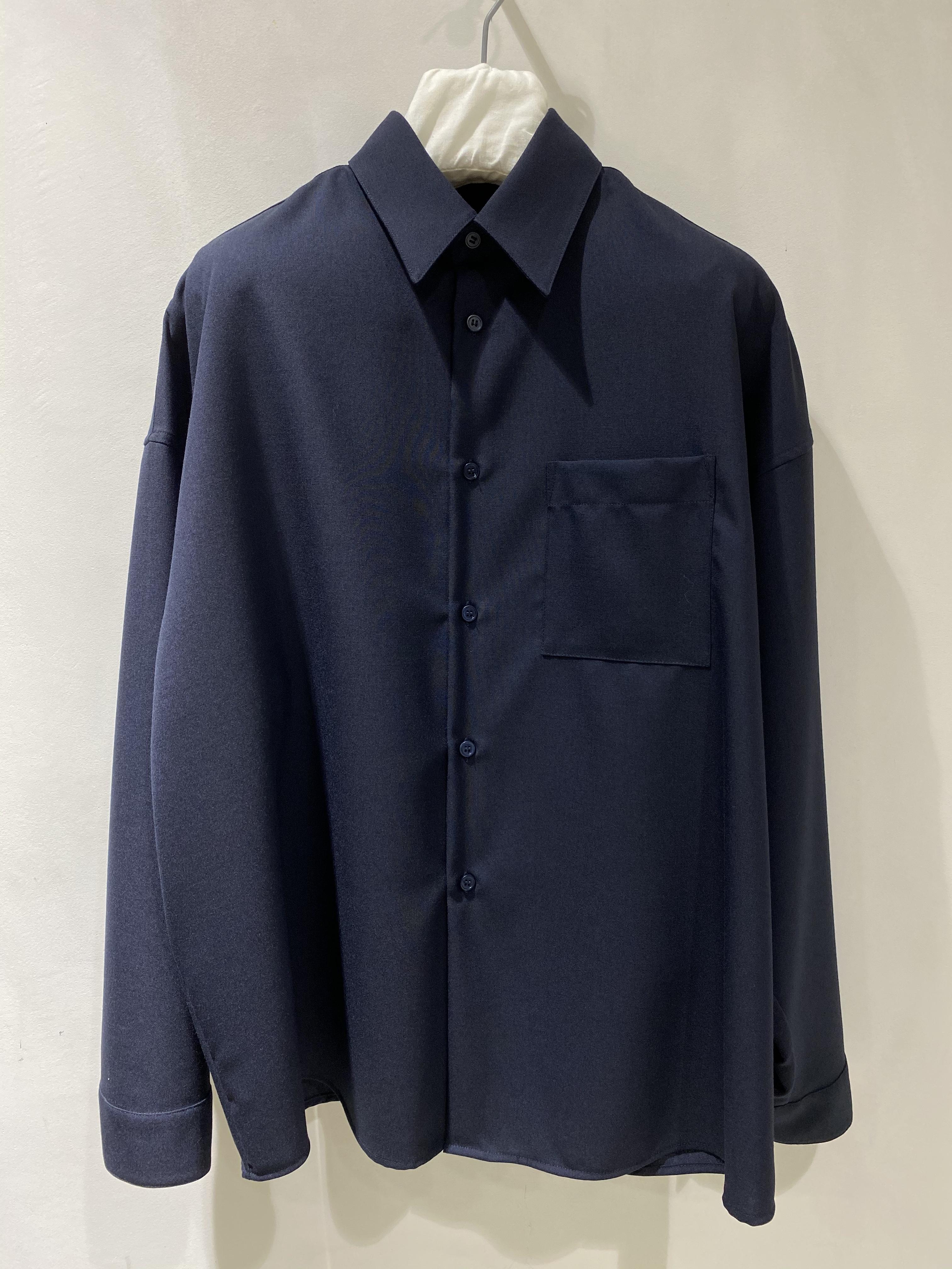 【MARNI】トロピカルウールシャツ
