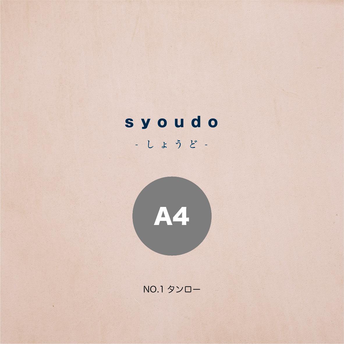 【A4サイズ】syoudo-しょうど-ヌメ革