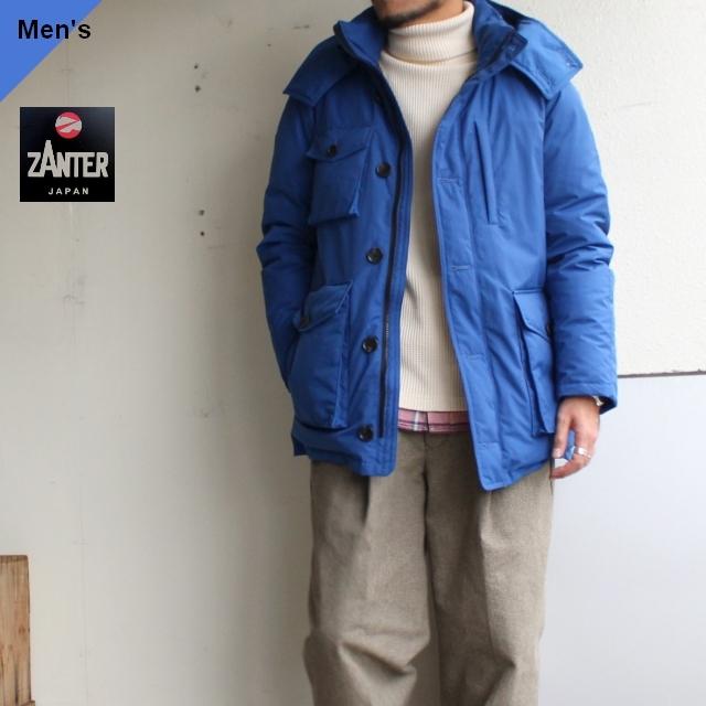 【19-20AW】ZANTER JAPAN DOWN PARKA WP-H (ブルー)