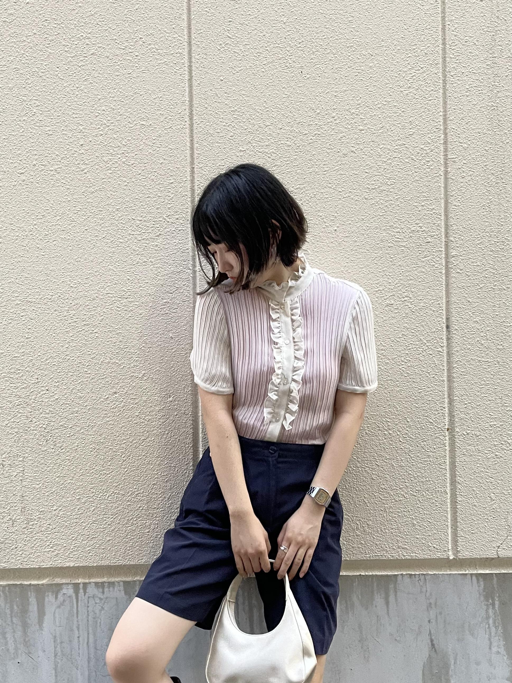 pleats blouse / 7SSTP16-04