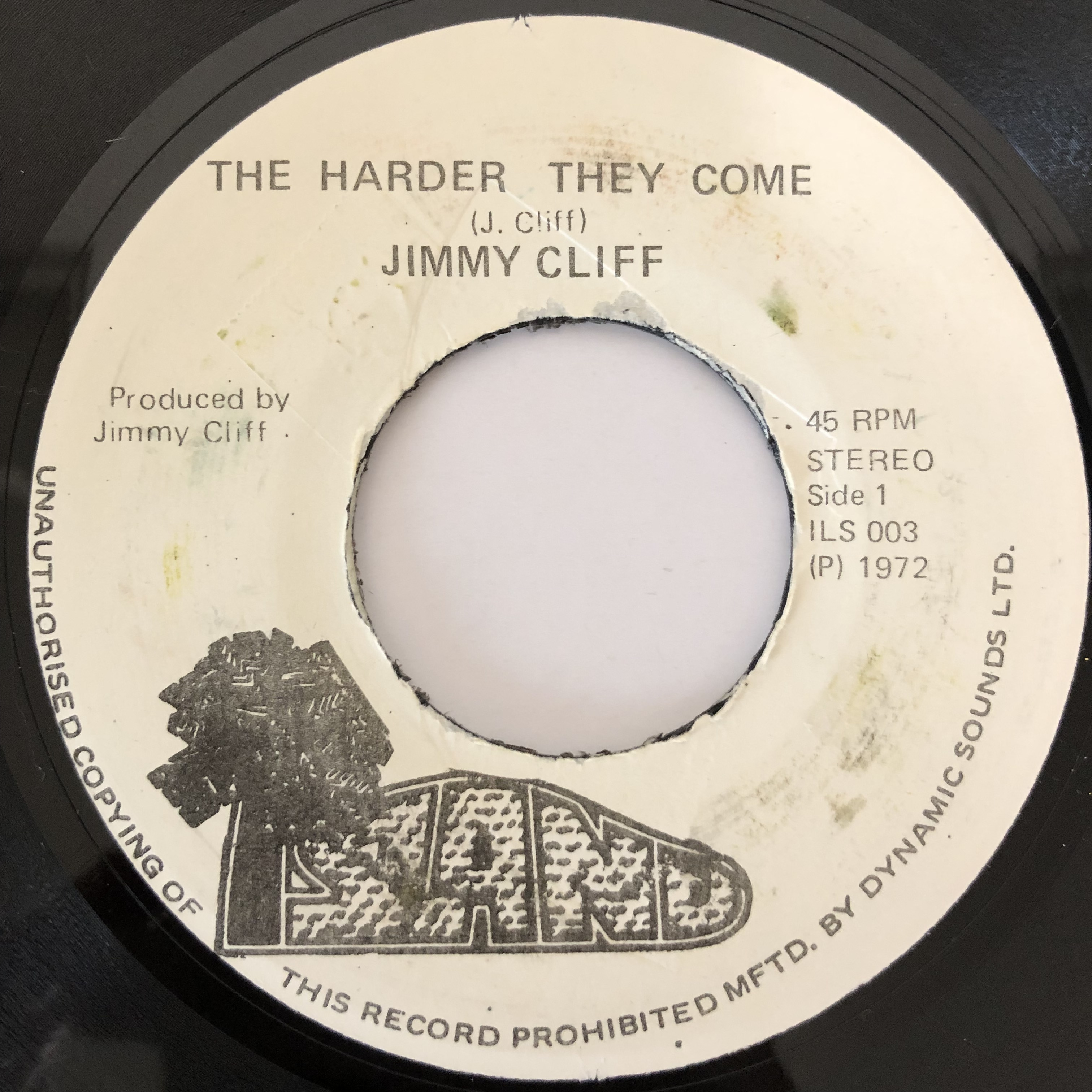 Jimmy Cliff(ジミークリフ) - Many Rivers To Cross【7-20238】