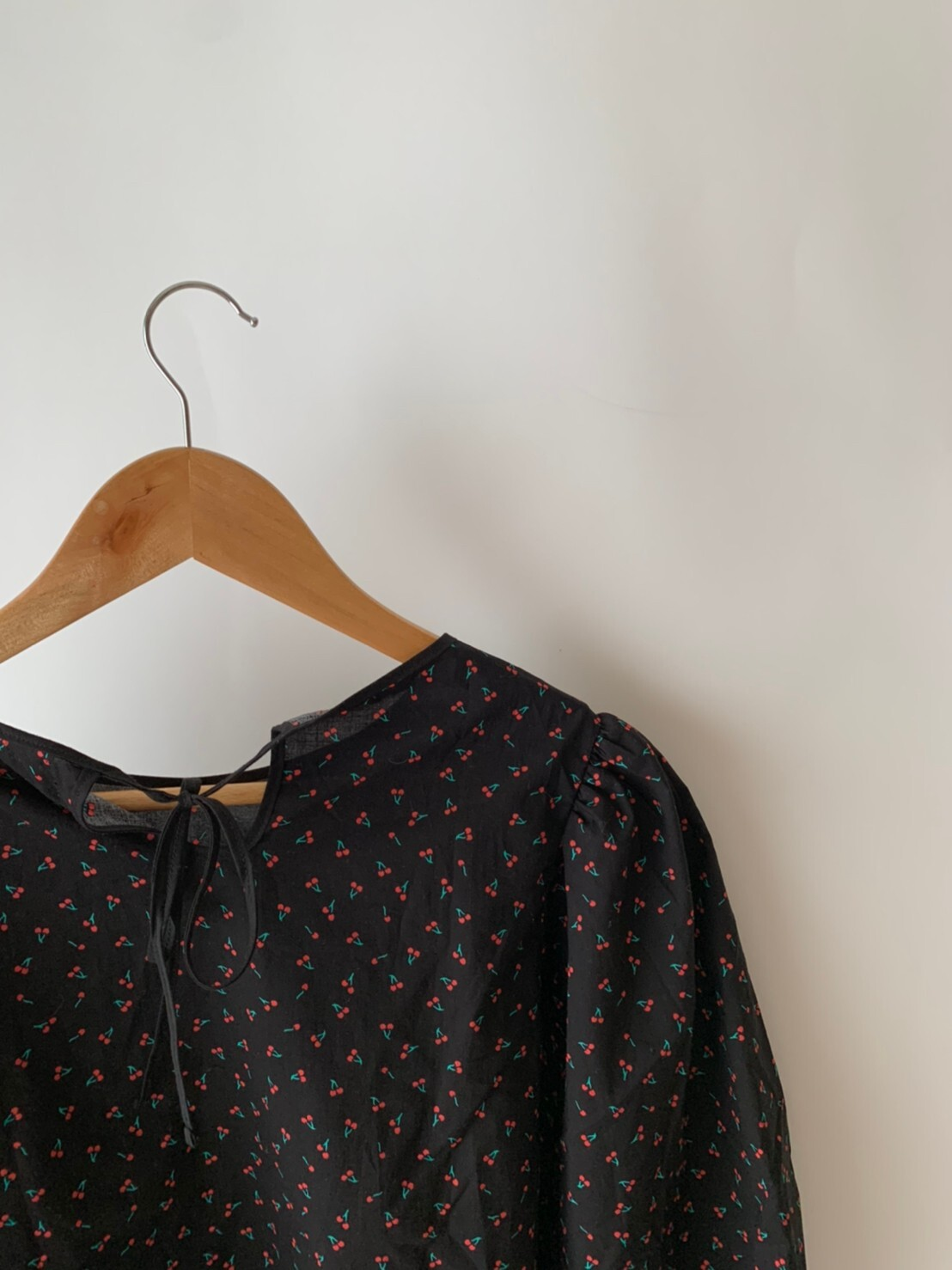 【asyu】otona cherry blouse
