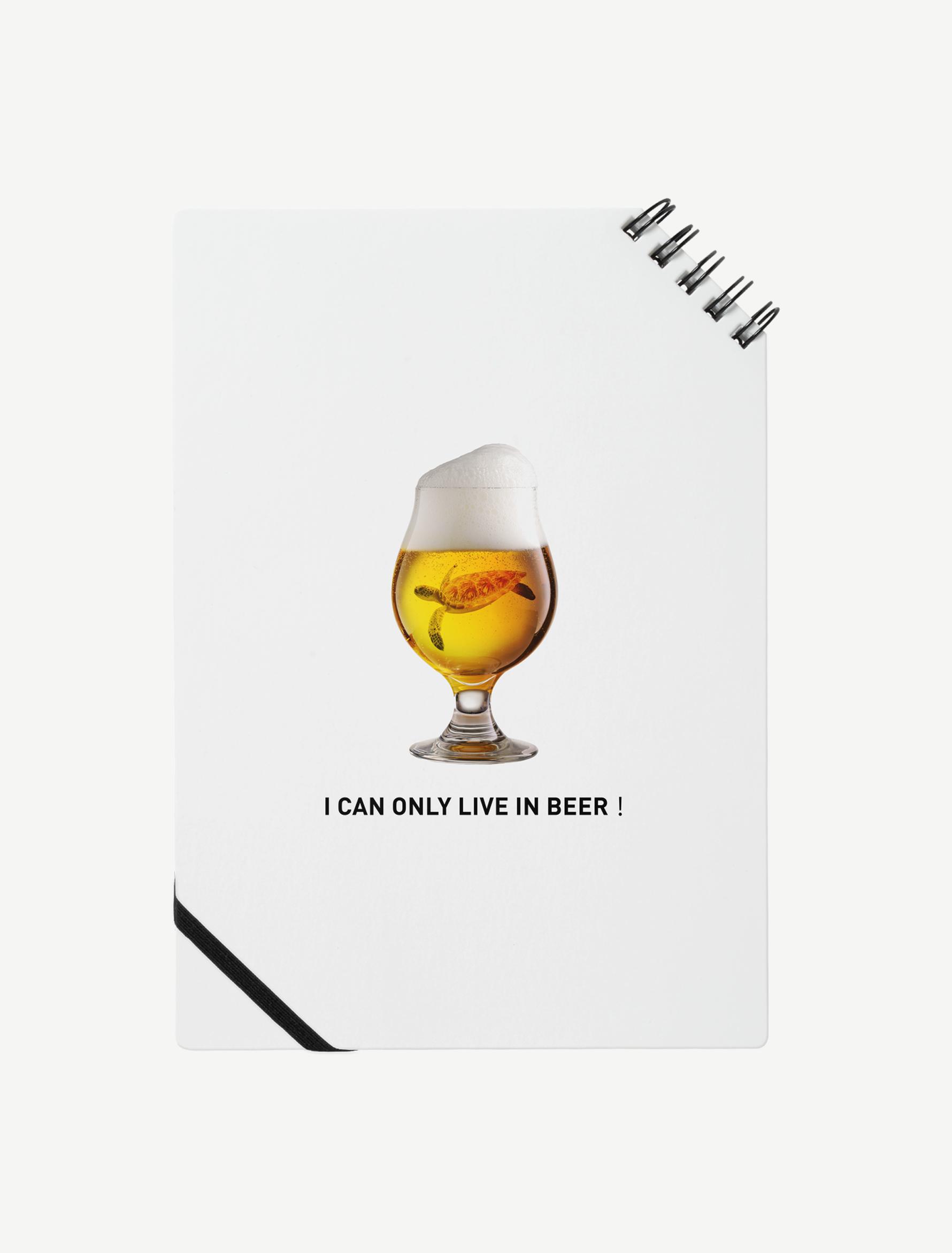 【ビールの中でしか・・・ウミガメ】ノート
