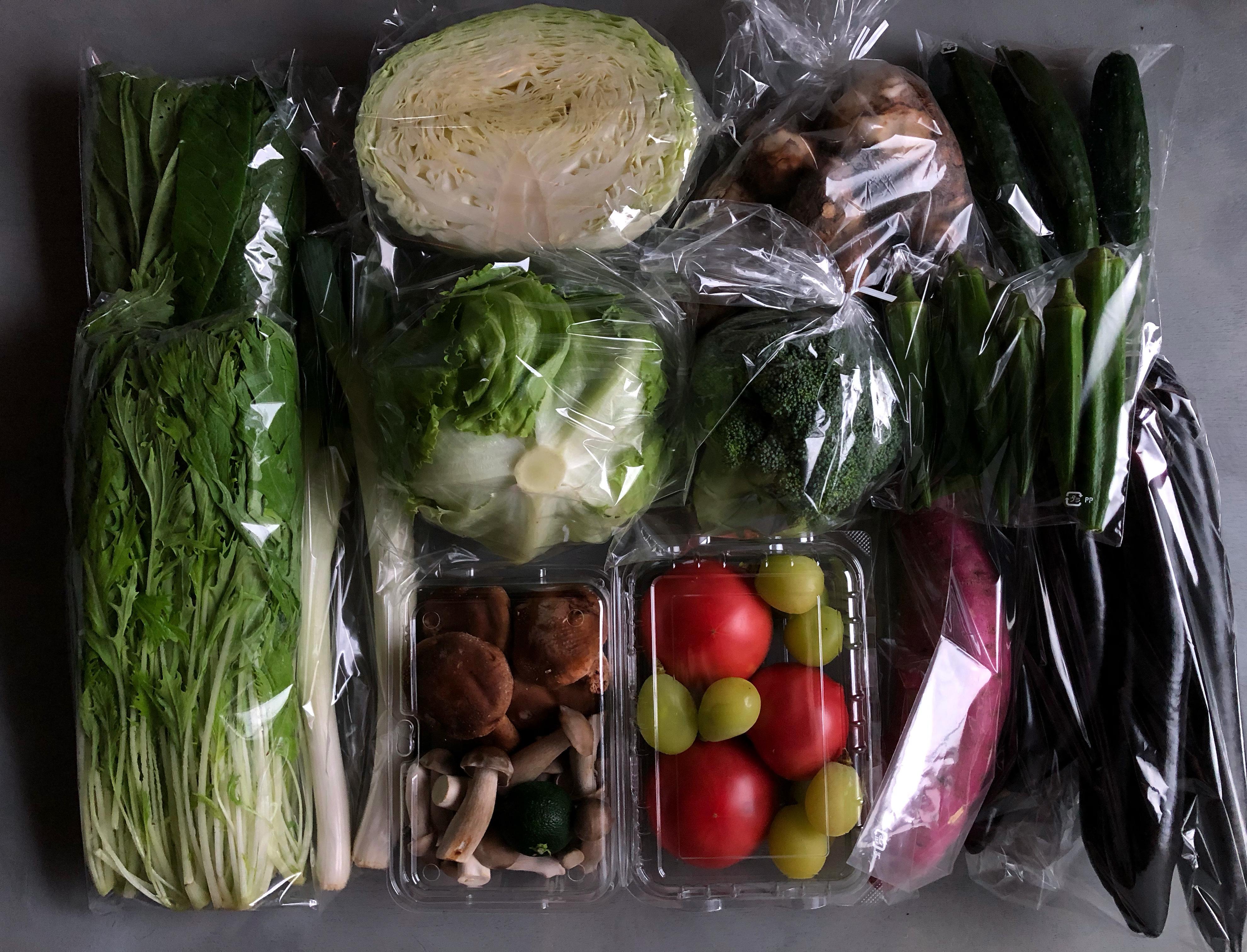 京野菜セットA+玄米2kg