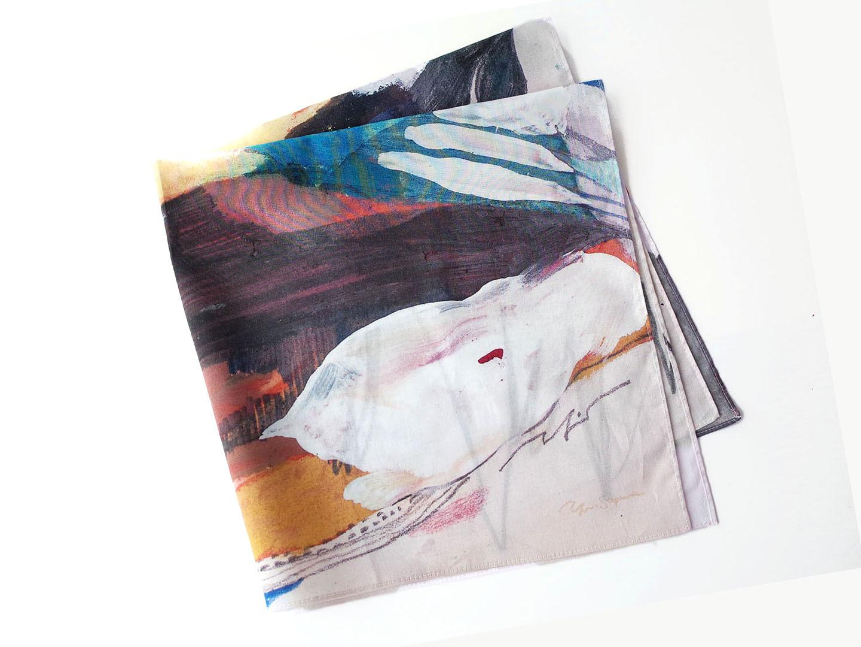Scarf / スカーフ 【 帆は風と交わす 】