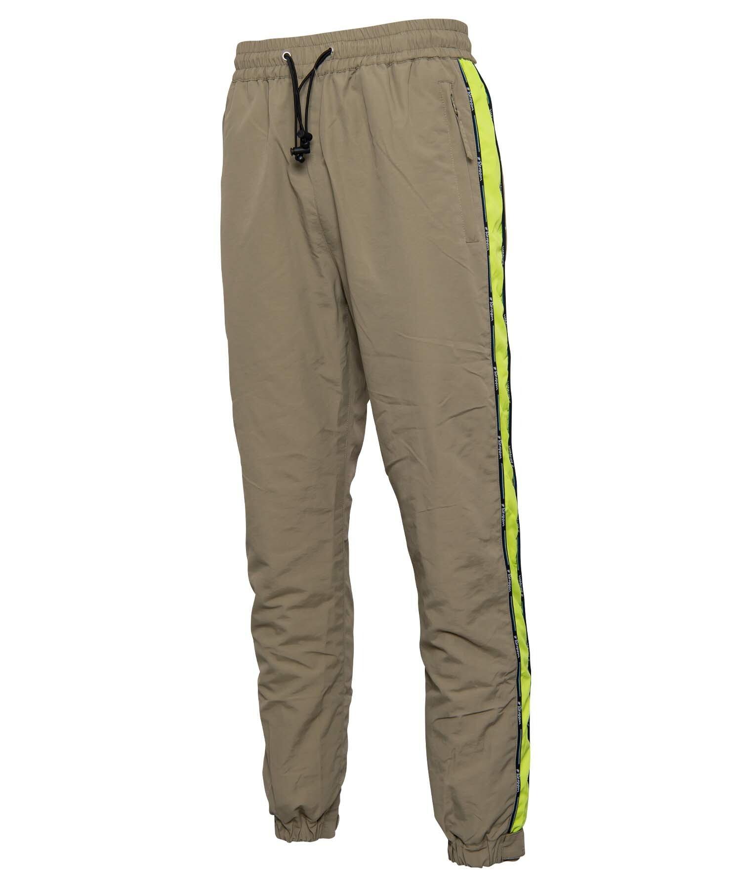 NYLON SLIM LINE JOG PANTS[REP083]
