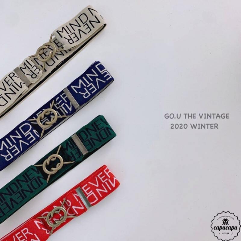 «即納» go.u nevermind belt ウエストベルト