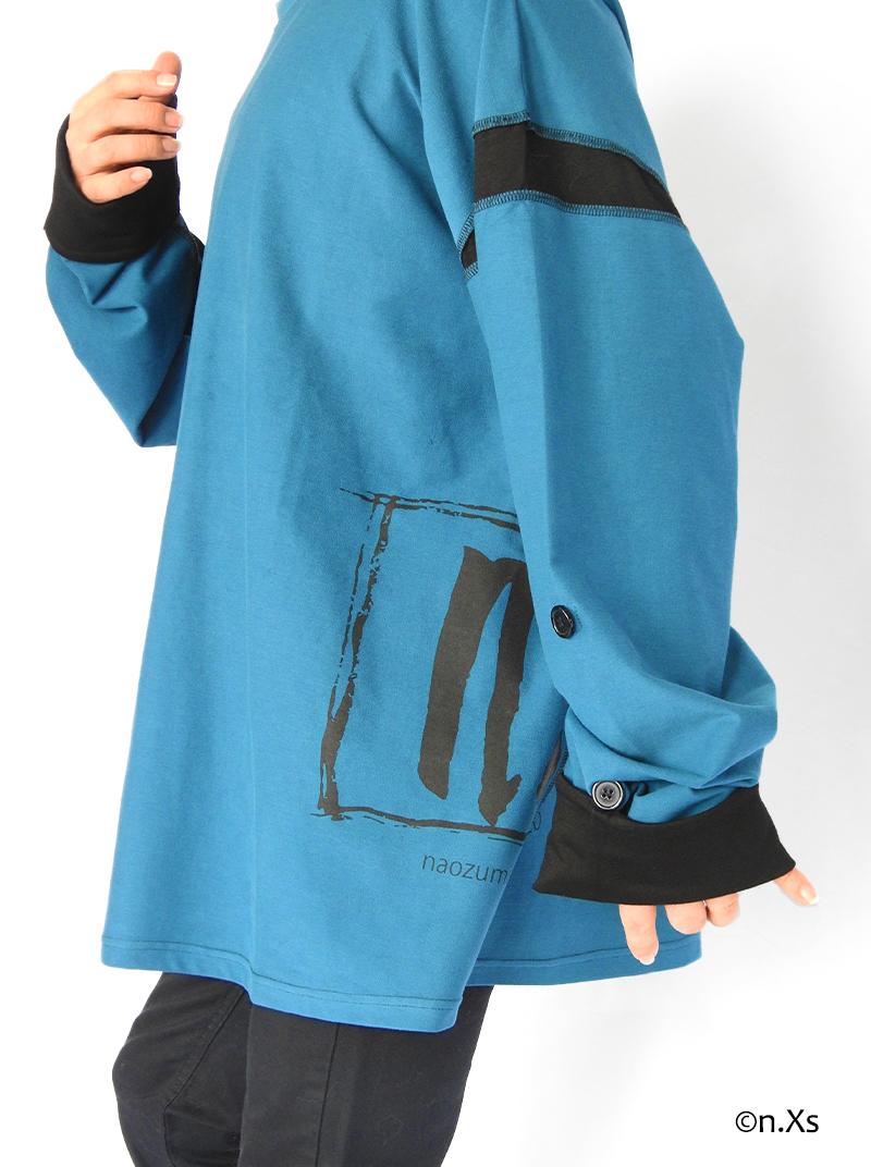 アウトロック・ロングスリーブT シャツ BLUE