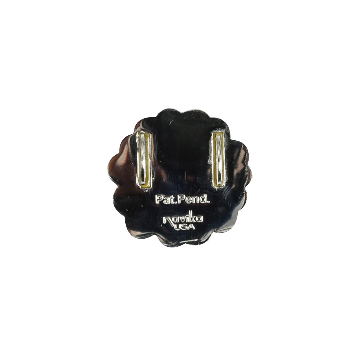 237. Flower White Shoe Marker
