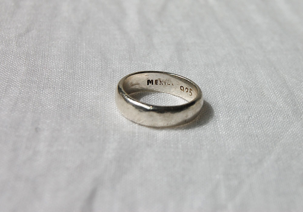 simple silver ring
