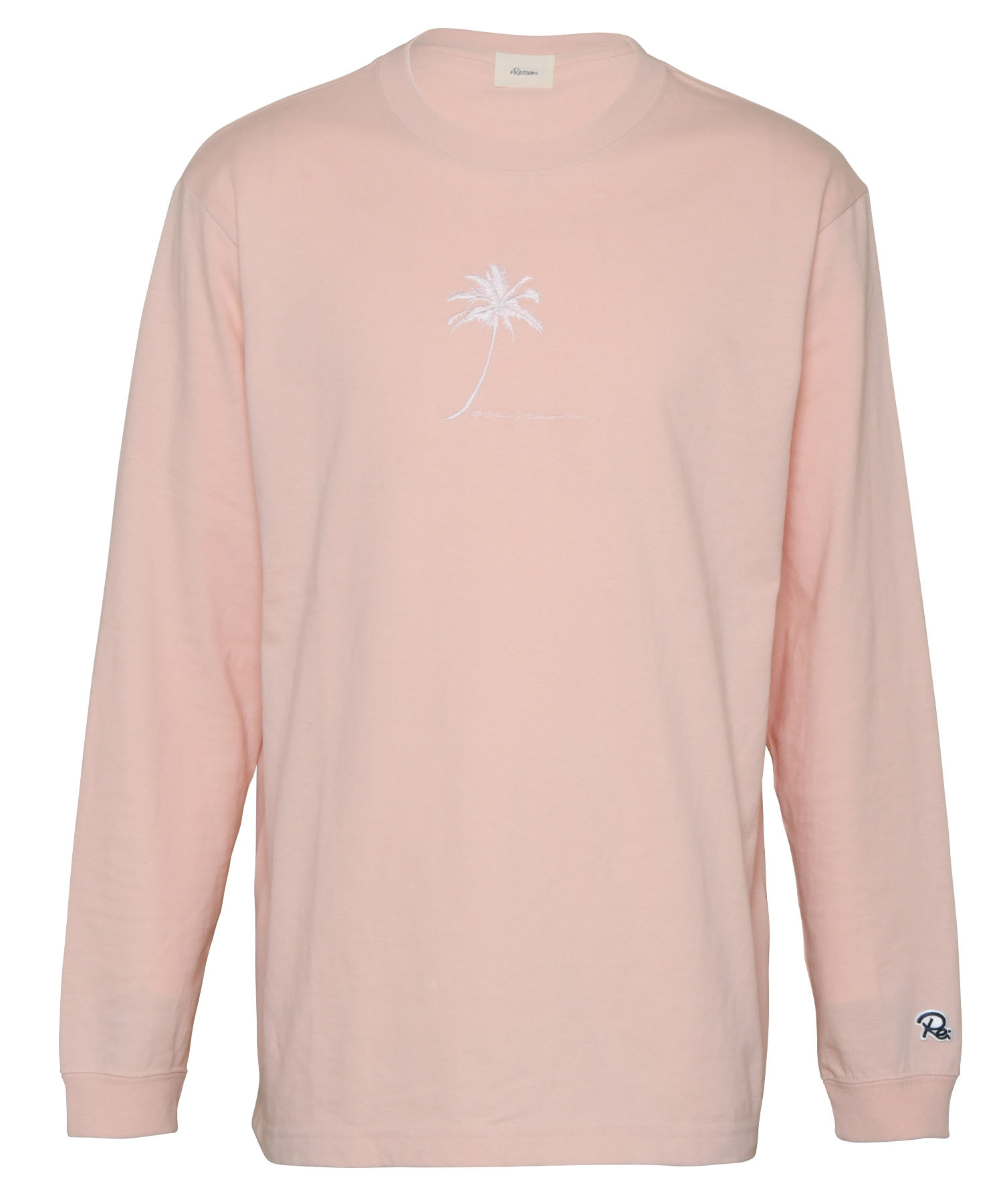 PALM TREE EMBROIDERY LONG SLEEVE[REC451]