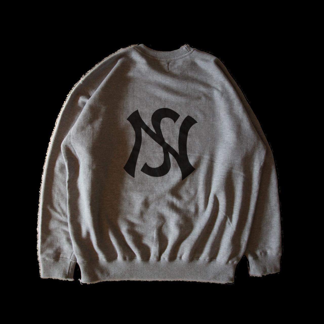 signature sweater in gray