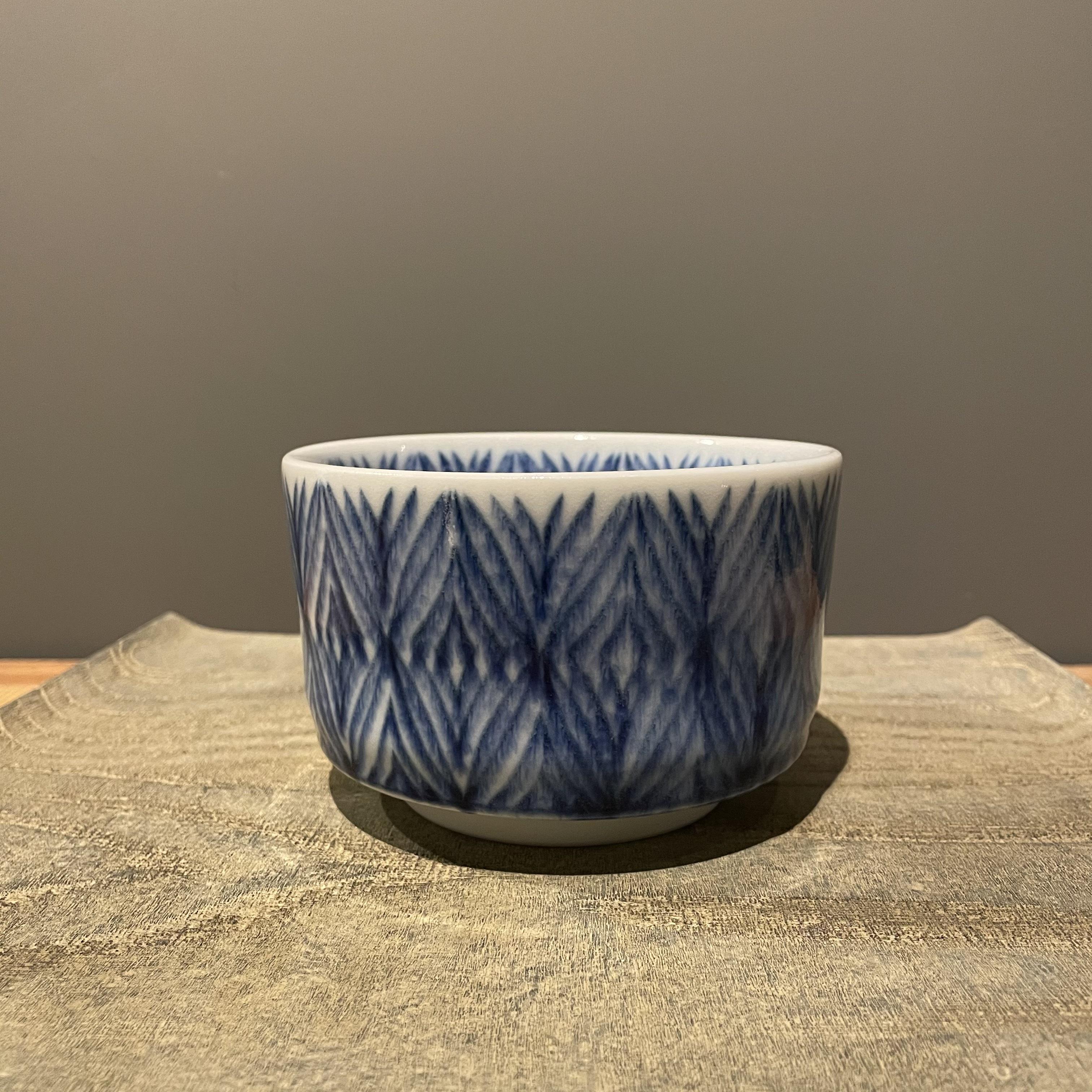 半田濃史   骨絞手茶碗