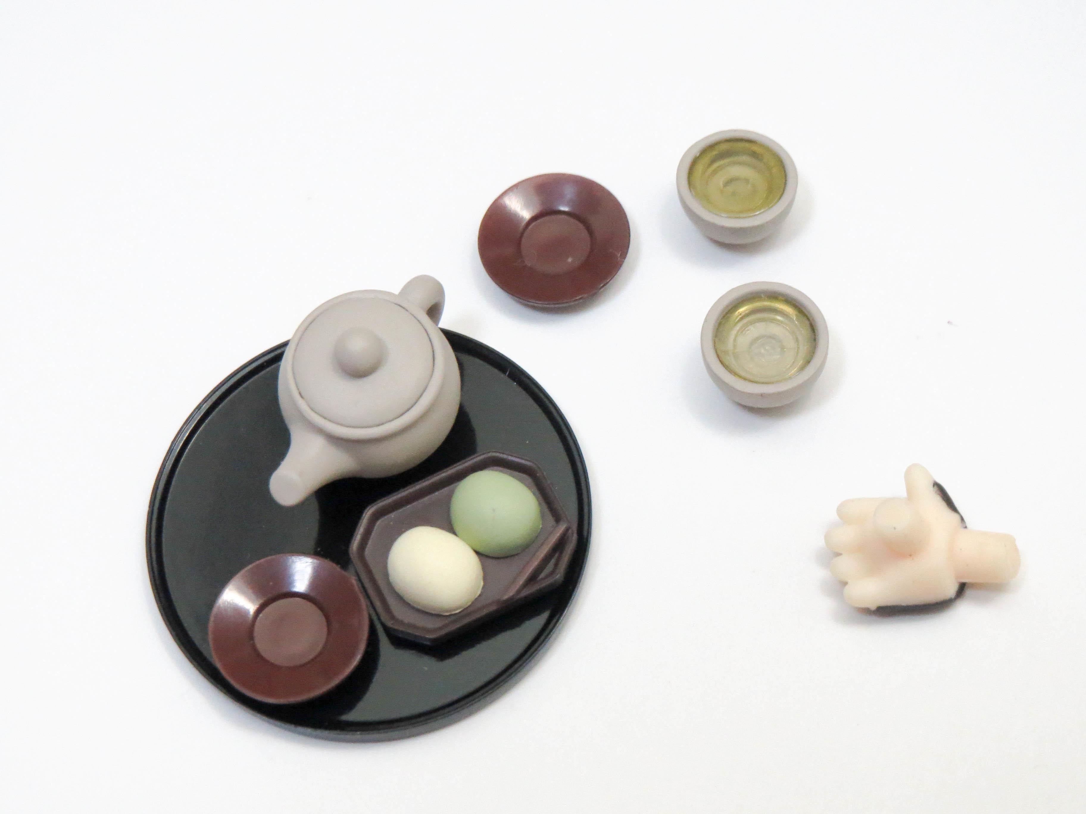 再入荷【792】 鶯丸 小物パーツ 茶器と和菓子 ねんどろいど