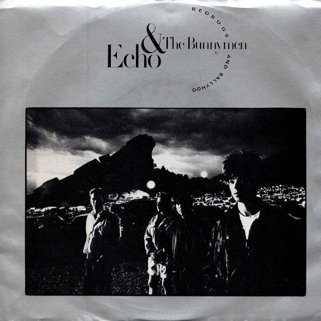 【7inch・米盤】Echo & The Bunnymen / Bedbugs And Ballyhoo