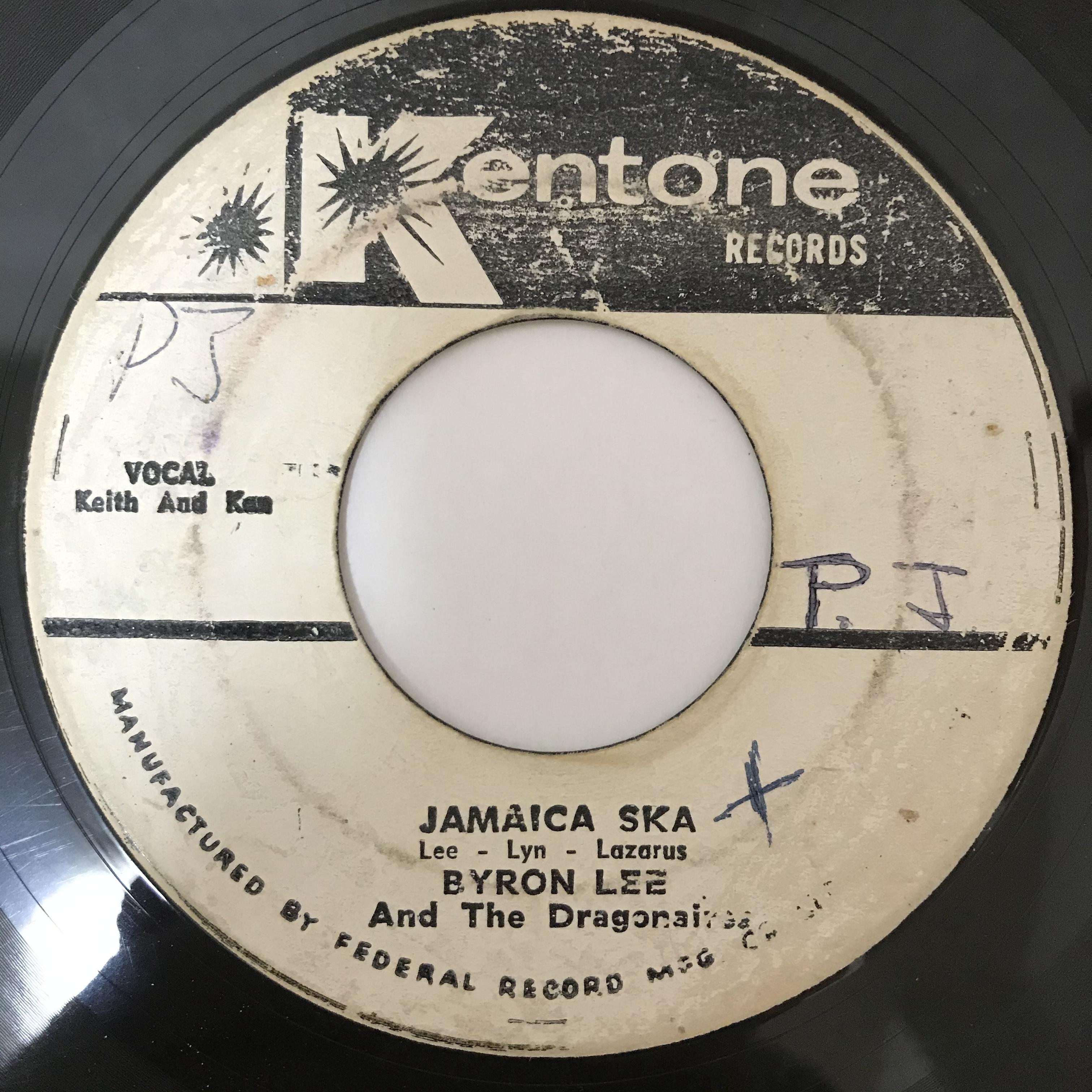 Byron Lee(バイロンリー), Dragonaires(ドラゴネアーズ) - Jamaica Ska【7-10909】