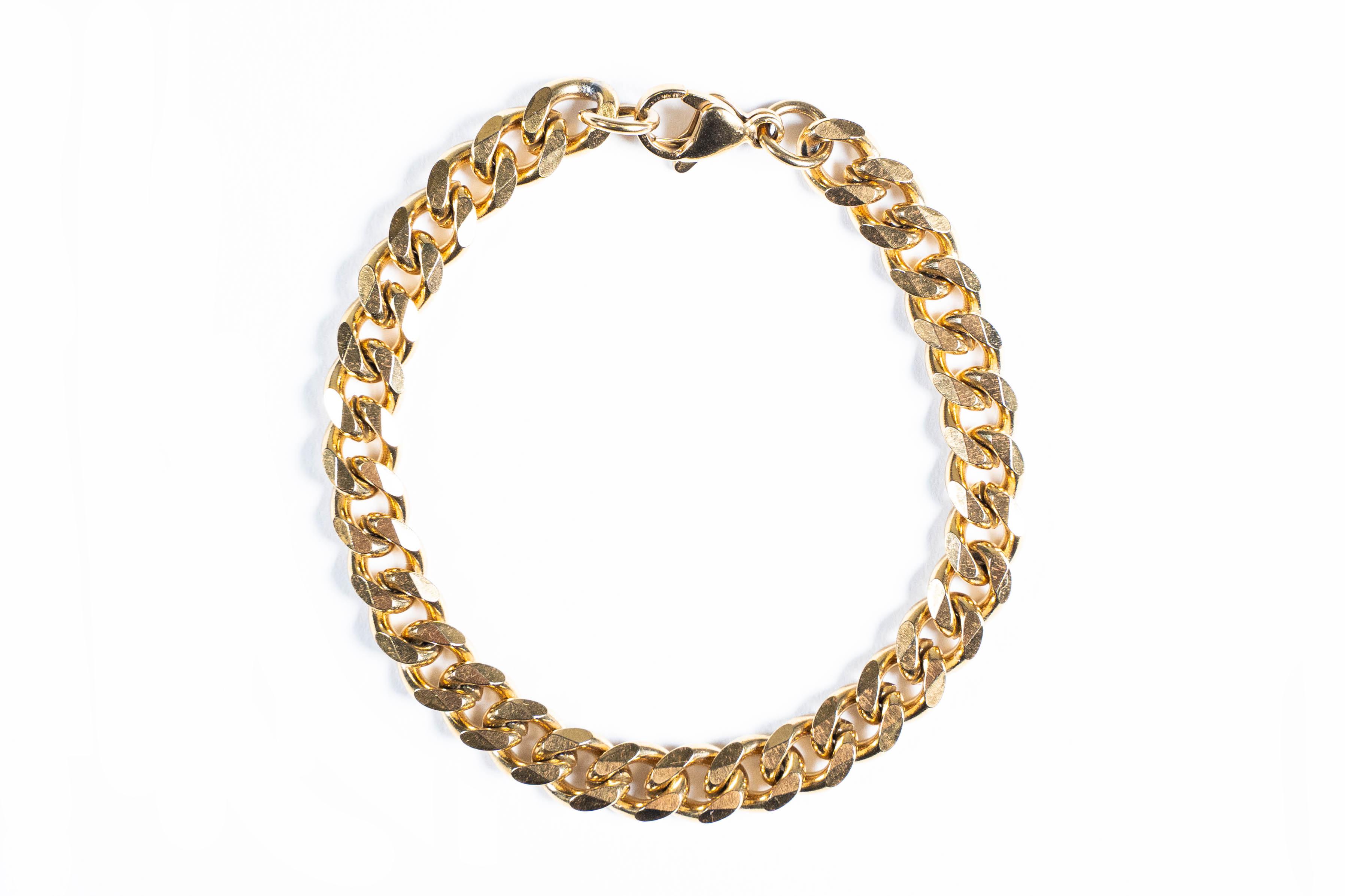 【316L chain bracelet】 / GOLD
