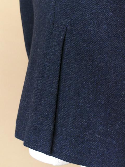 Arbre アルブル  wool herringbone 3B jacket【メンズ】【SALE・セール】