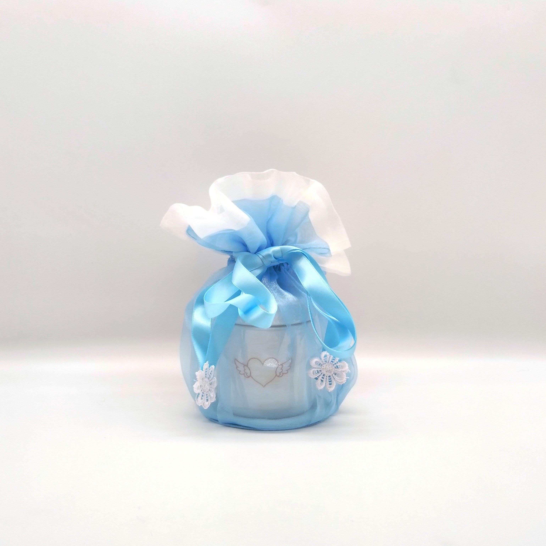 エンジェルセット(骨壺と外カバーセット) 【選べる3色】小動物サイズ 2.5寸用
