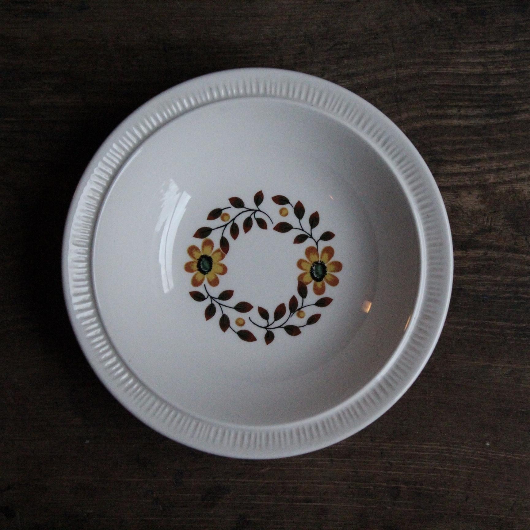 kokura ware 花柄小皿 在庫3枚