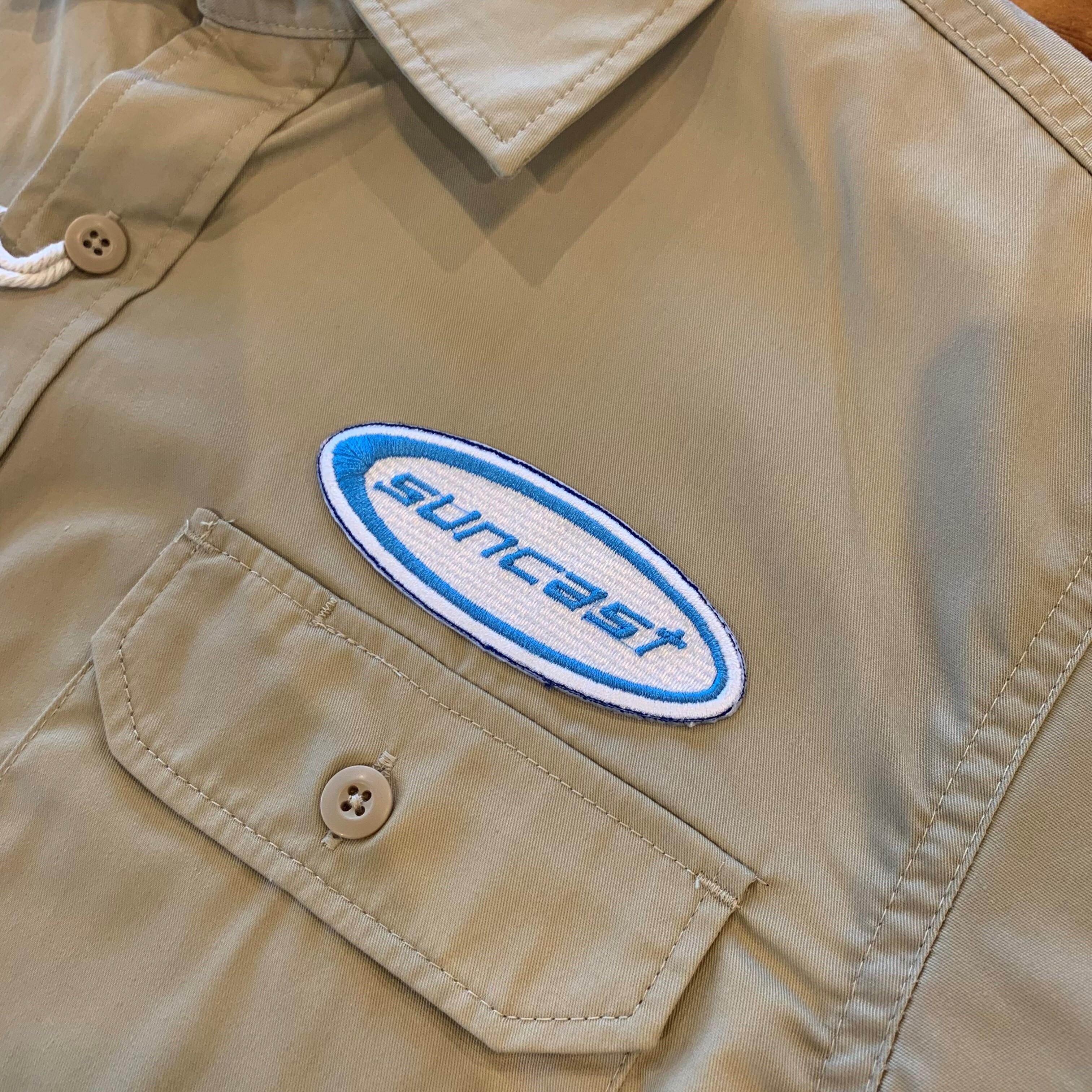 PATCHIES【ワッペン】 SUNCAST サンキャスト ワークシャツ