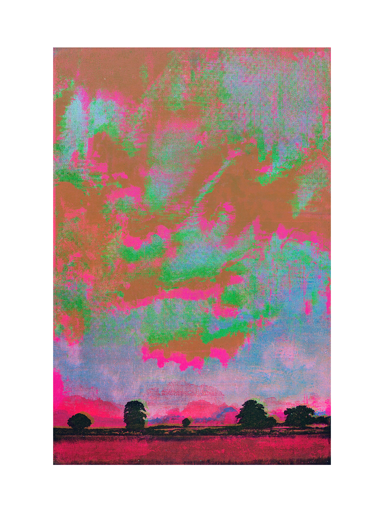 COLLIDER part 1 Screen Painting No.89 / Harry Adams