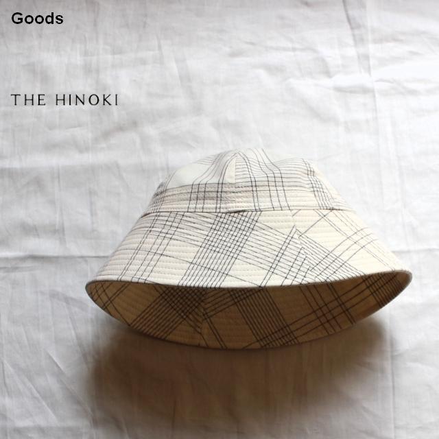 THE HINOKI オーガニックコットンハット TH19S-19 (チェック)