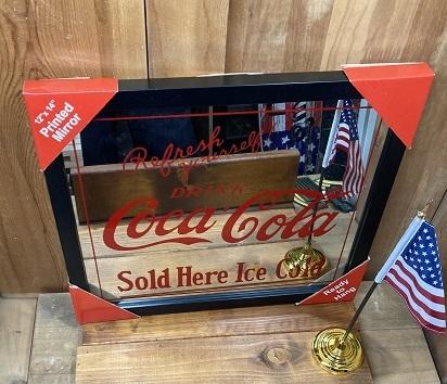 コカコーラ  パブミラー CATST189957