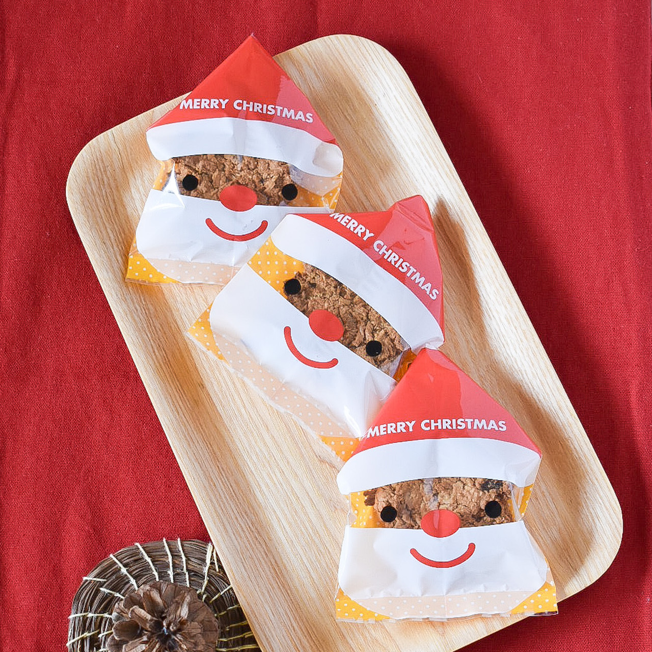 サンタのオートミールクッキー【12月限定】