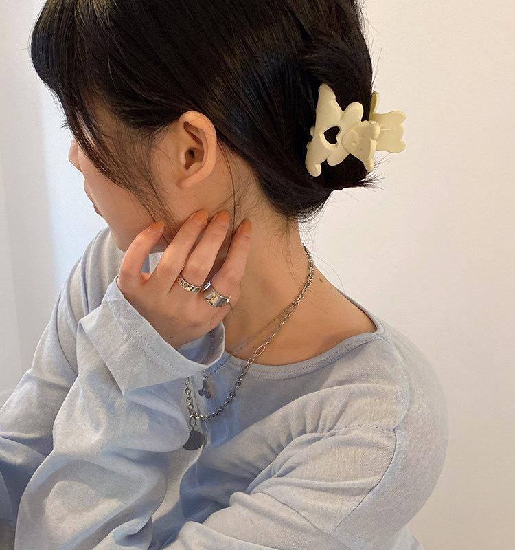 mini bear hairclip