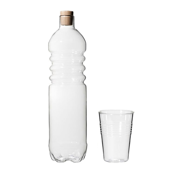 Roost Cup and Bottle ルースト ガラスカップ&ボトルセット