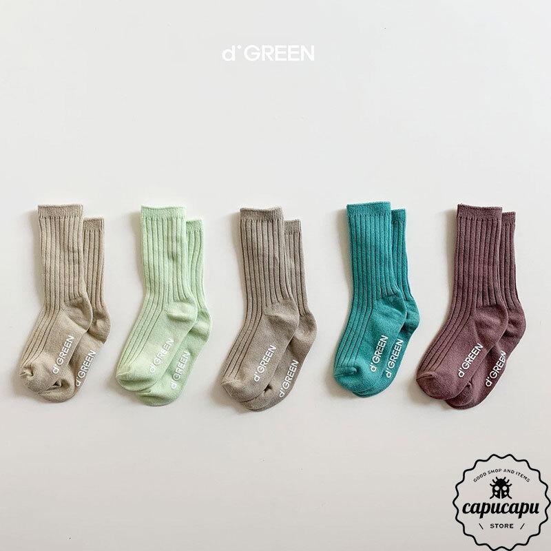 «即納»«5足セット» natural color socks 5set ナチュラルカラー ソックス 靴下