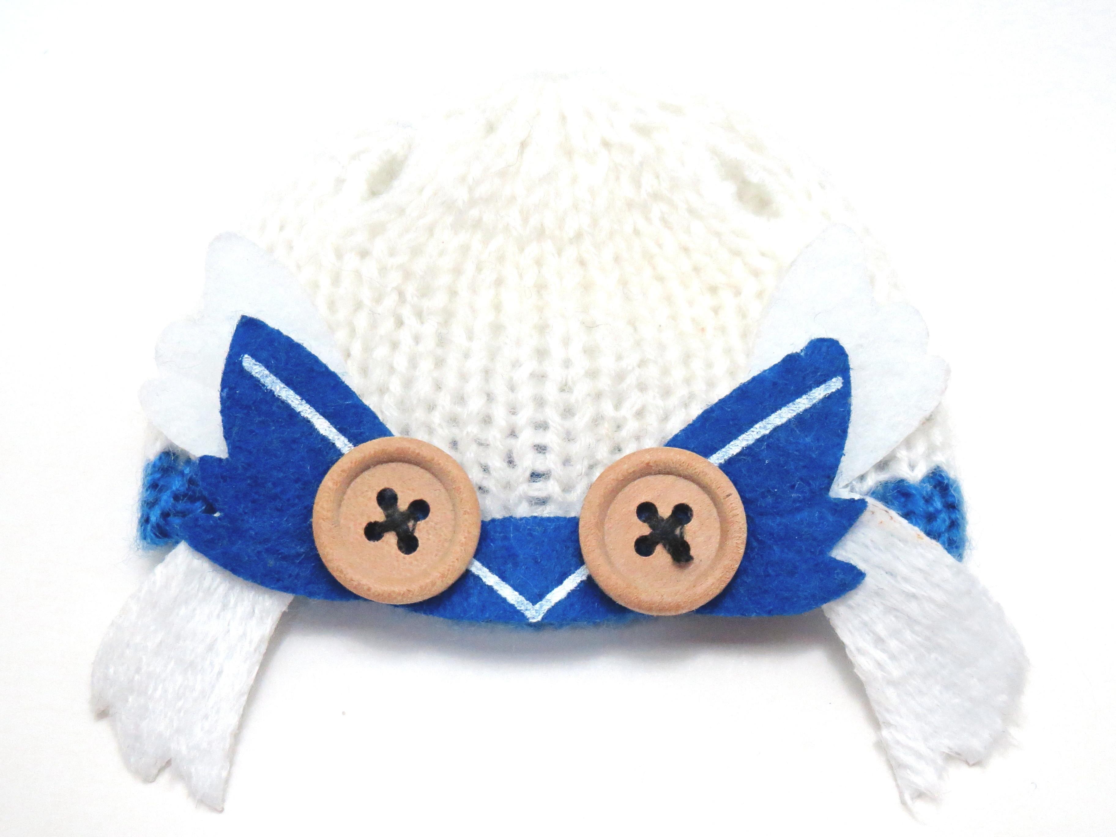 【SALE】【570】 雪ミク Snow Owl Ver. 小物パーツ ニット帽 ねんどろいど