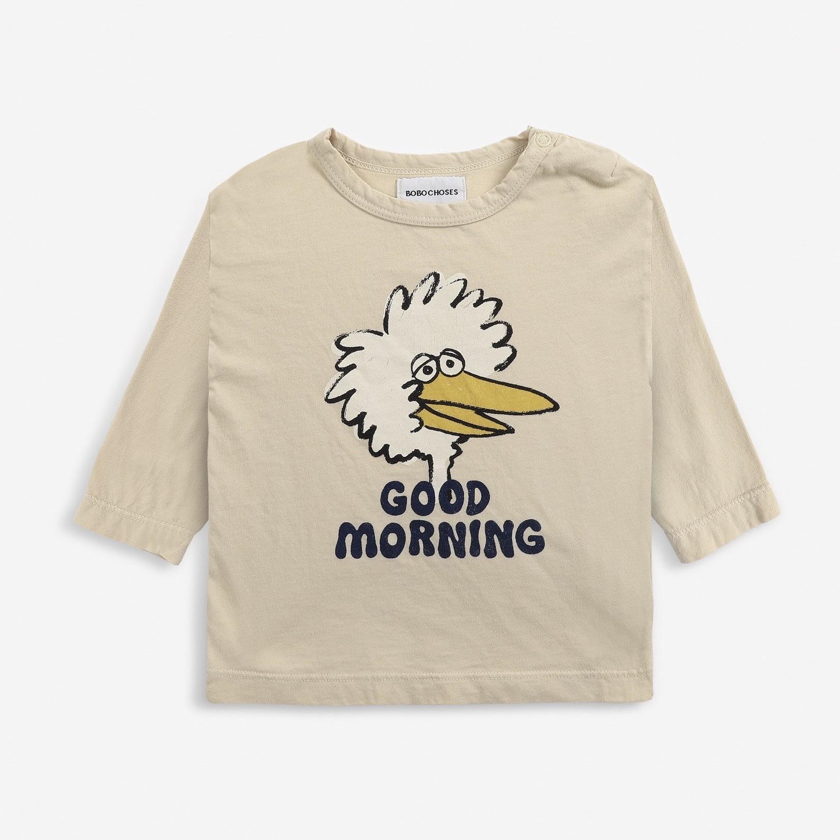 《BOBO CHOSES 2021AW》Birdie long sleeve T-shirt / 12-36M