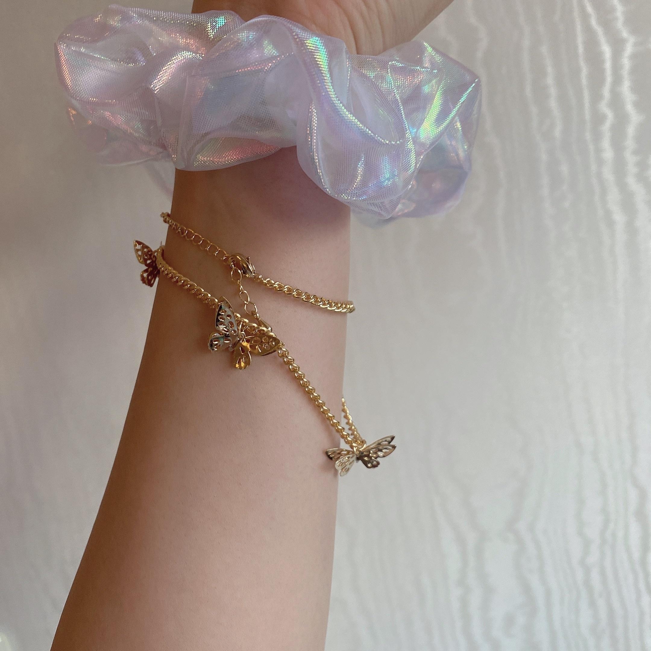 butterfly chain choker
