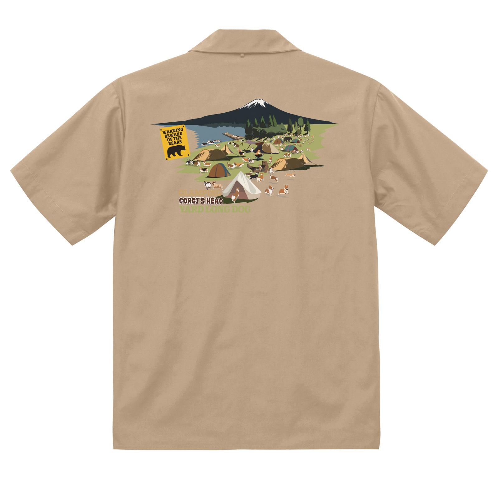 No.2021-summer-Work001 :  コーギーズヘッドワークシャツ