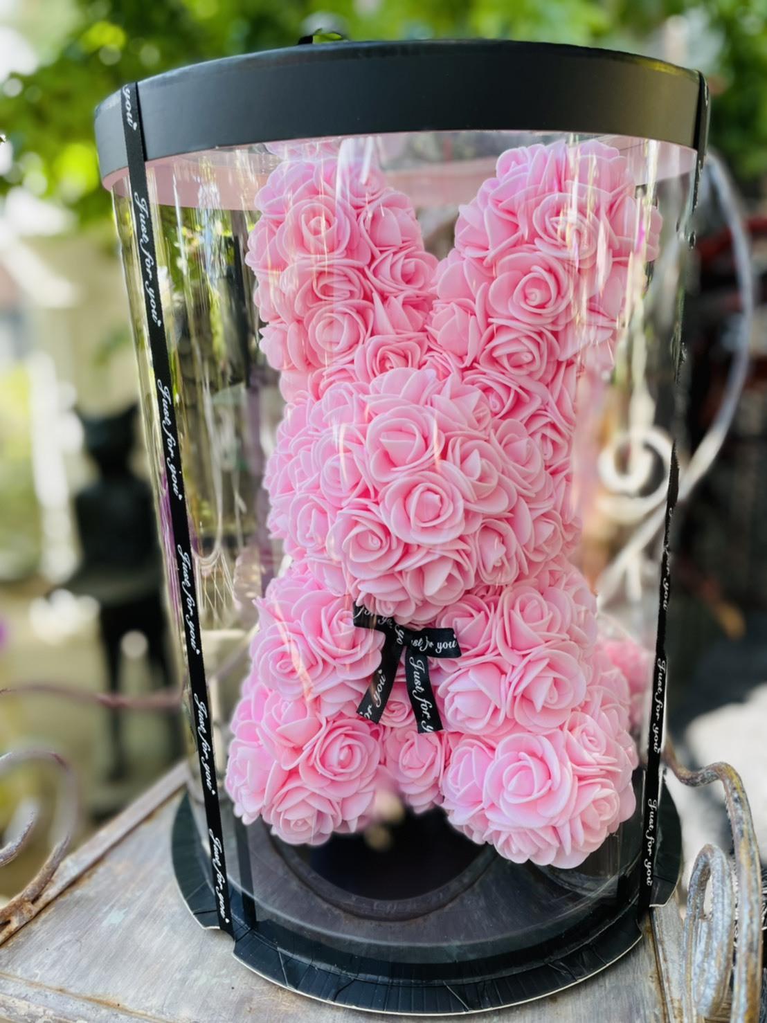 mini カラフルうさちゃん ピンク