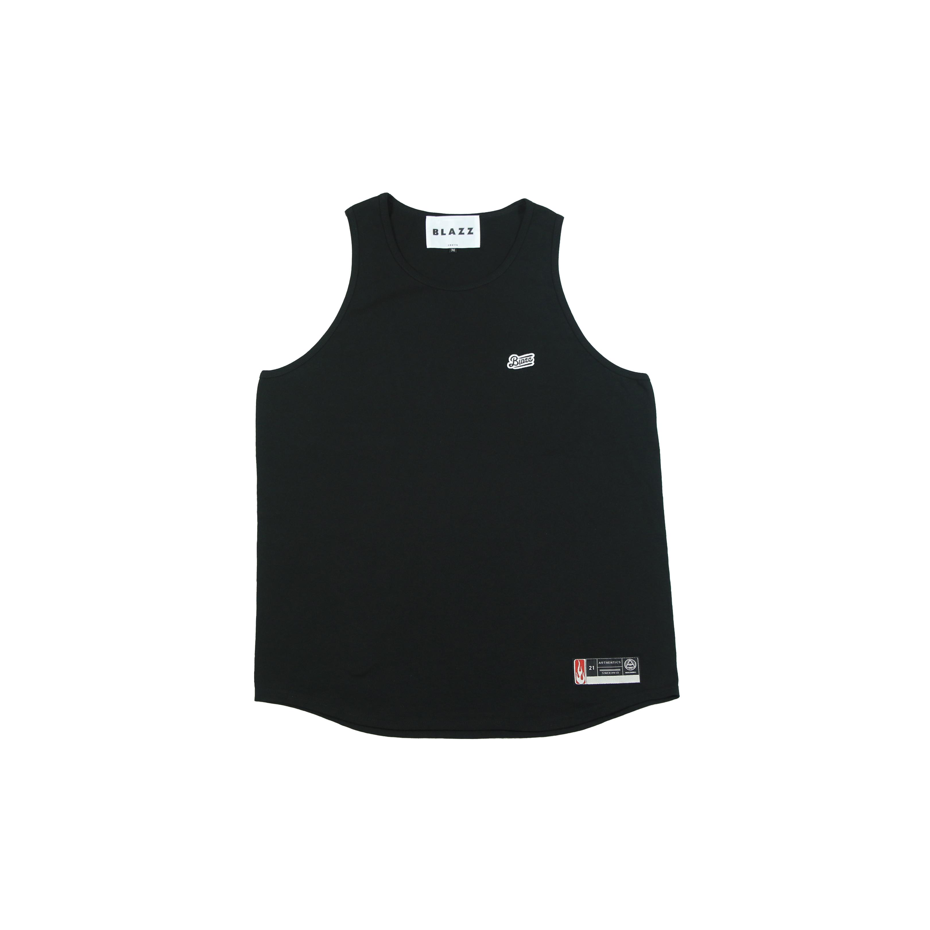 LOGO PATCH TankTop [BLACK/BLACK]