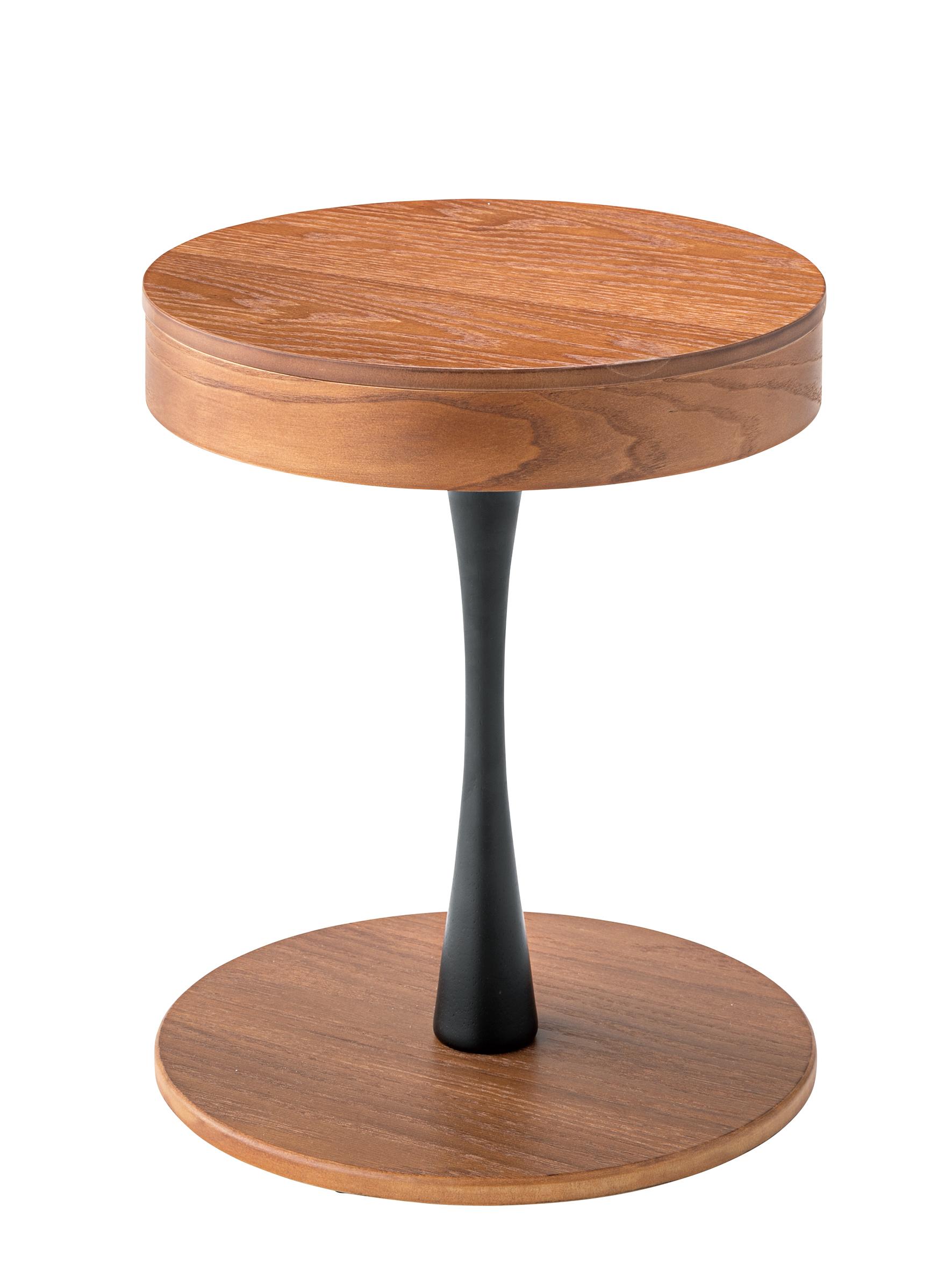 Wood Side Table / 北欧スタイル 収納付サイドテーブル