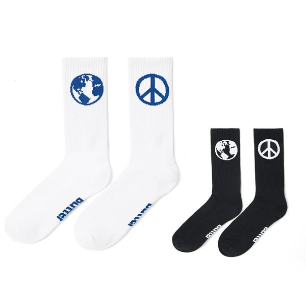 BUTTERGOODS|World Peace Socks